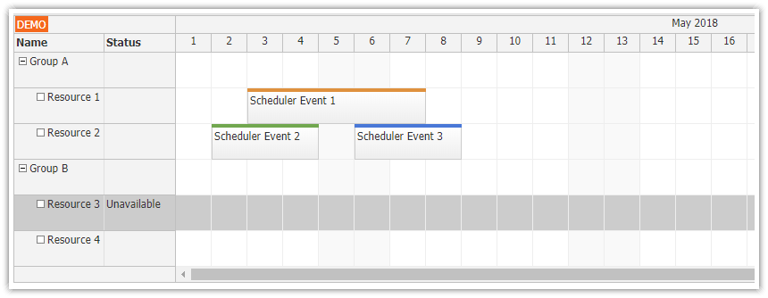 Angular Scheduler | DayPilot Documentation - Scheduling for