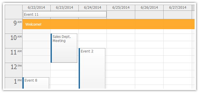 event calendar daypilot documentation   scheduling for