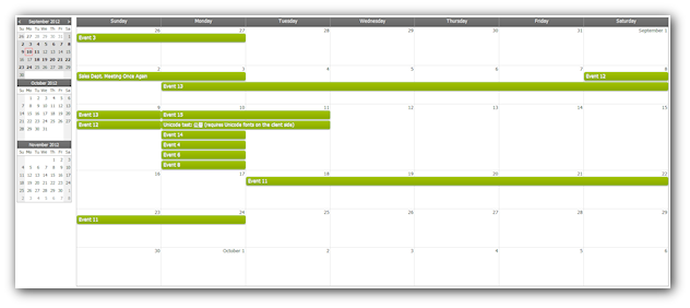 Weekly Calendar Using Javascript : Css monthly event calendar daypilot documentation