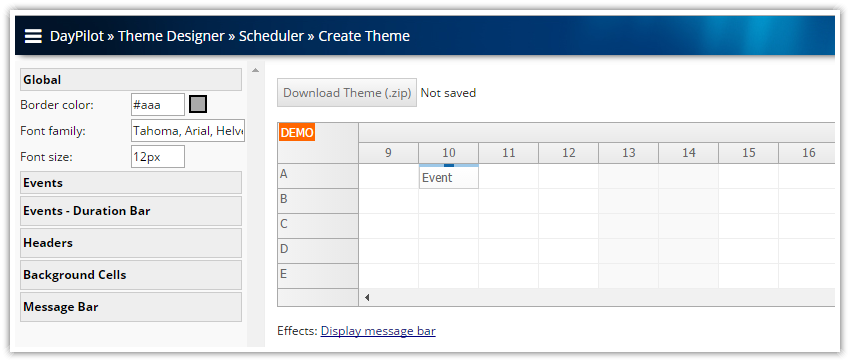 scheduler-css-theme-designer-online.png