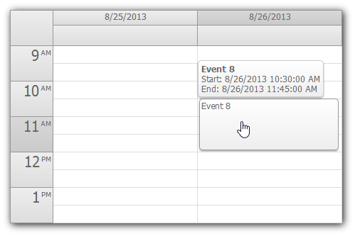 controls   event calendar daypilot documentation