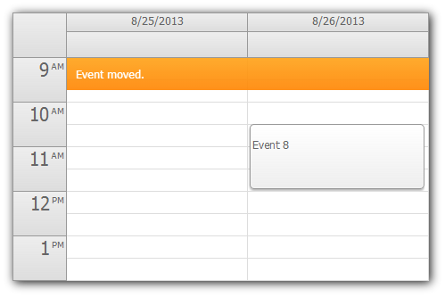 event-calendar-html5-message-bar.png