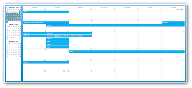 Monthly Calendar Using Javascript : Css monthly event calendar daypilot documentation