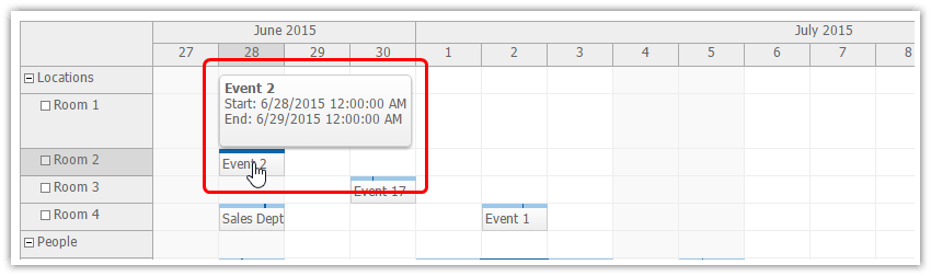 Event Bubble - Scheduler | DayPilot Documentation - Scheduling for